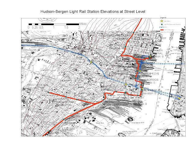 Streetcars And Spatial Analysis January 2013