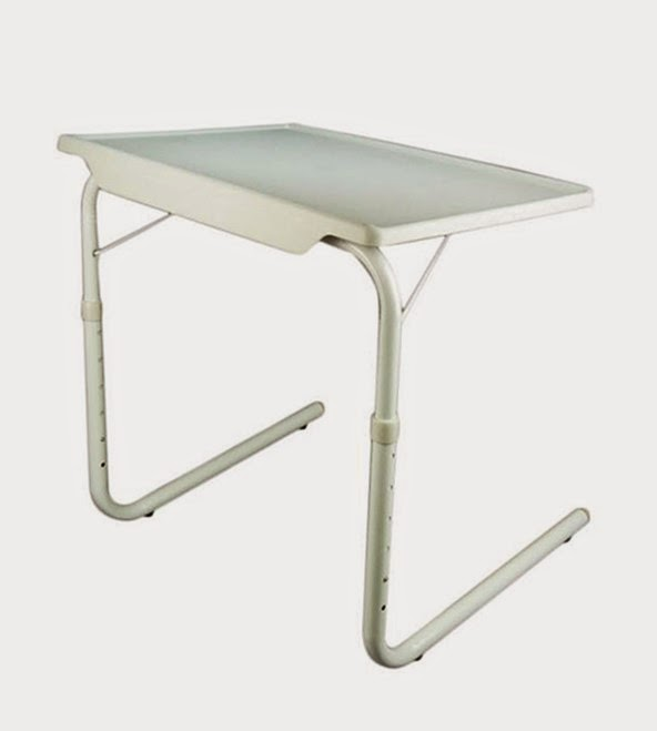 Accedre Table Mate Portable Table With Adjustable Tray