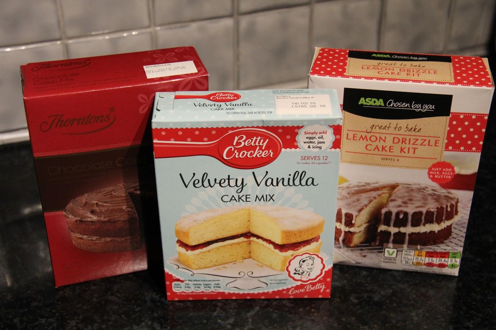 Make Packet Cake Mix Better
