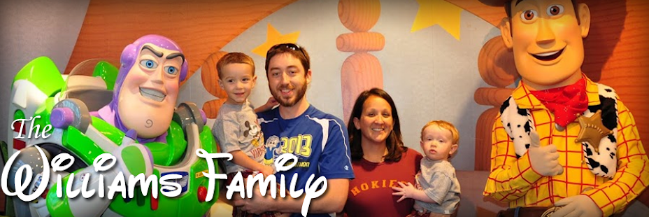 The Williams Family Blog