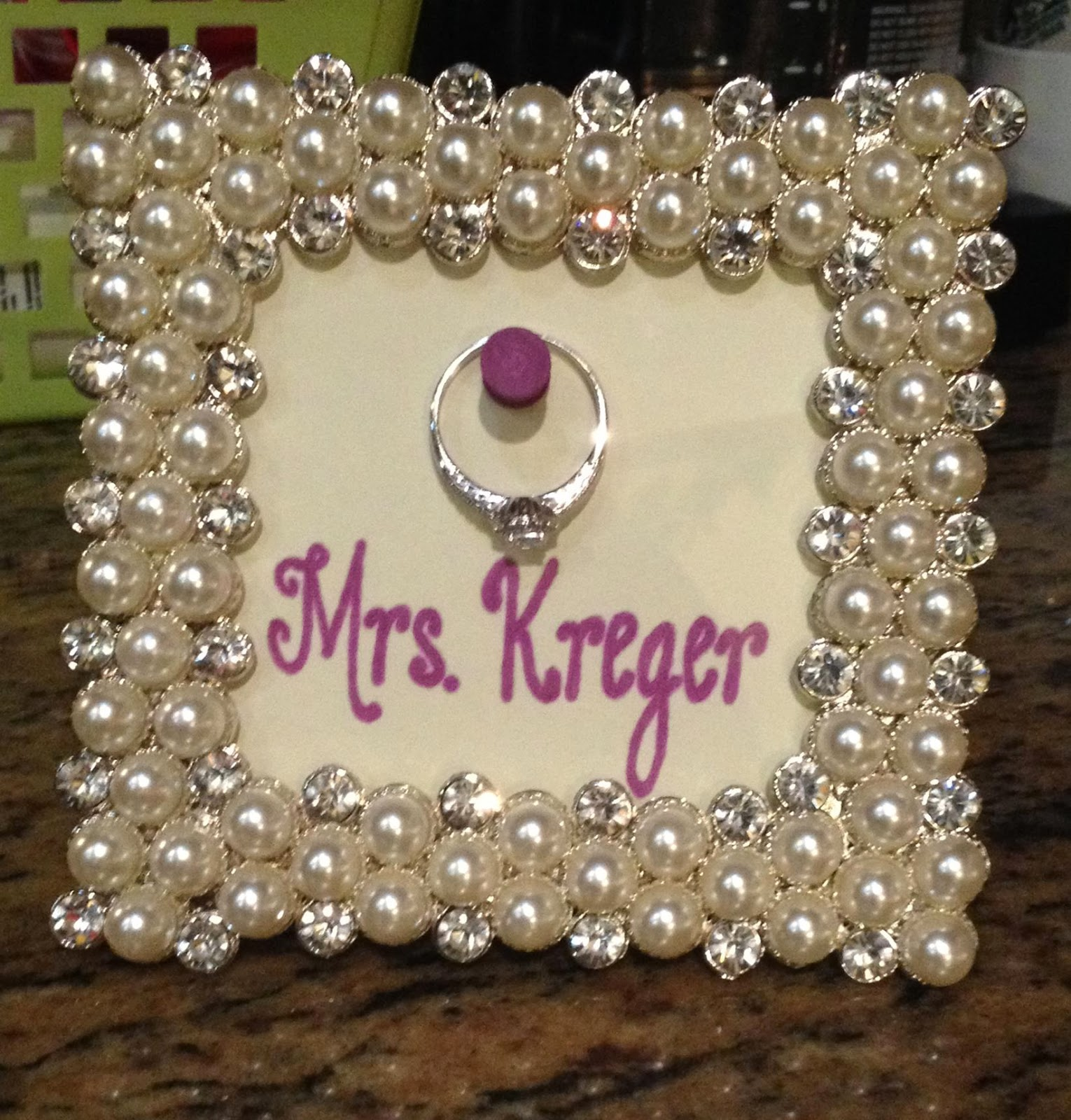 do it yourself drew - Engagement Picture Frame