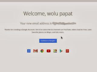 Tutorial bagaimana cara membuat atau mendaftar akun di google plus