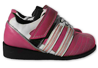 Style Athletics Women Girls Weightlifting Weight Lifting Shoes pink