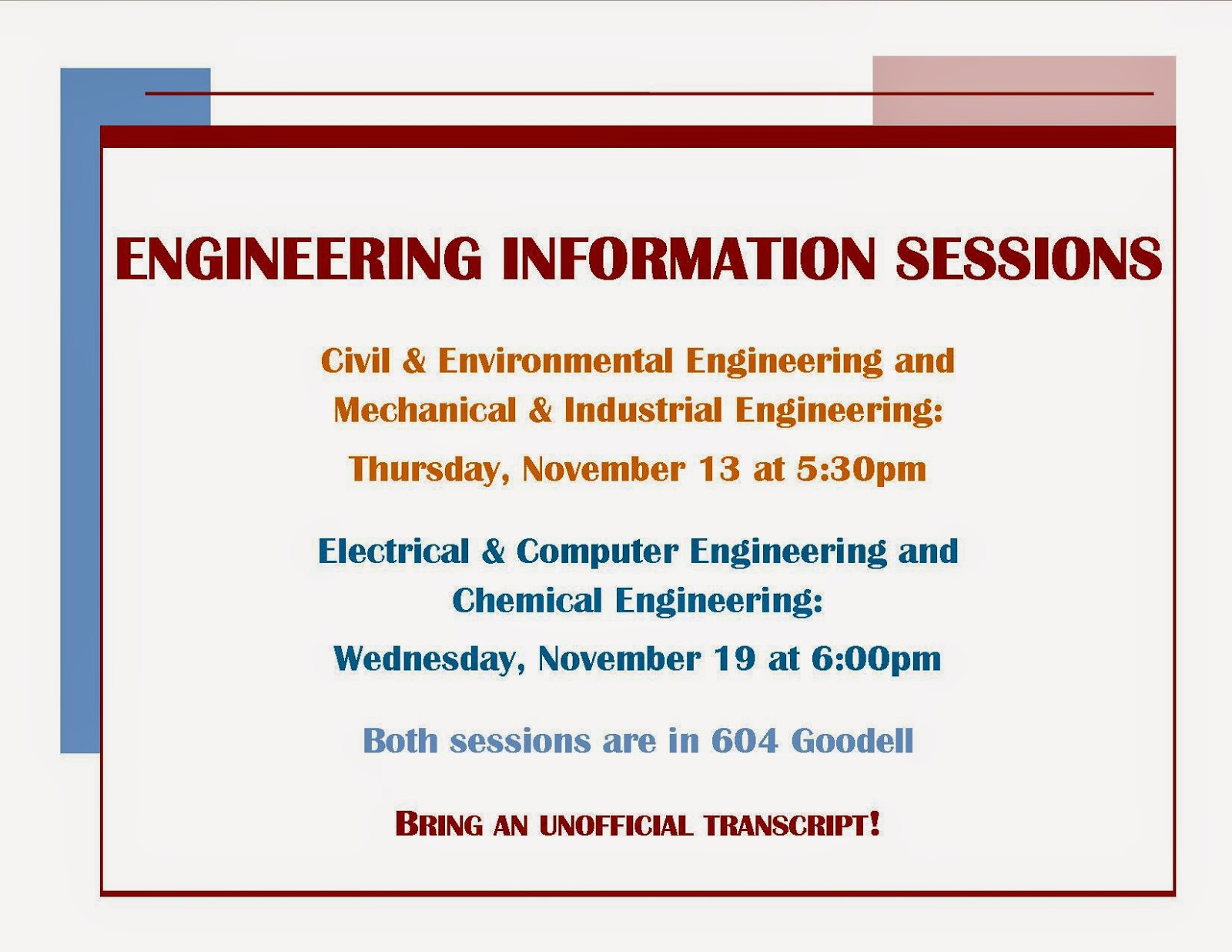 civil engineering info posted thesis There are two ms options: thesis and project the intent of a thesis is to advance the state of the art, while the intent of a project is to apply the state of the art the results of a thesis should be publishable as a journal or conference article, while the results of a project may or may not be publishable.