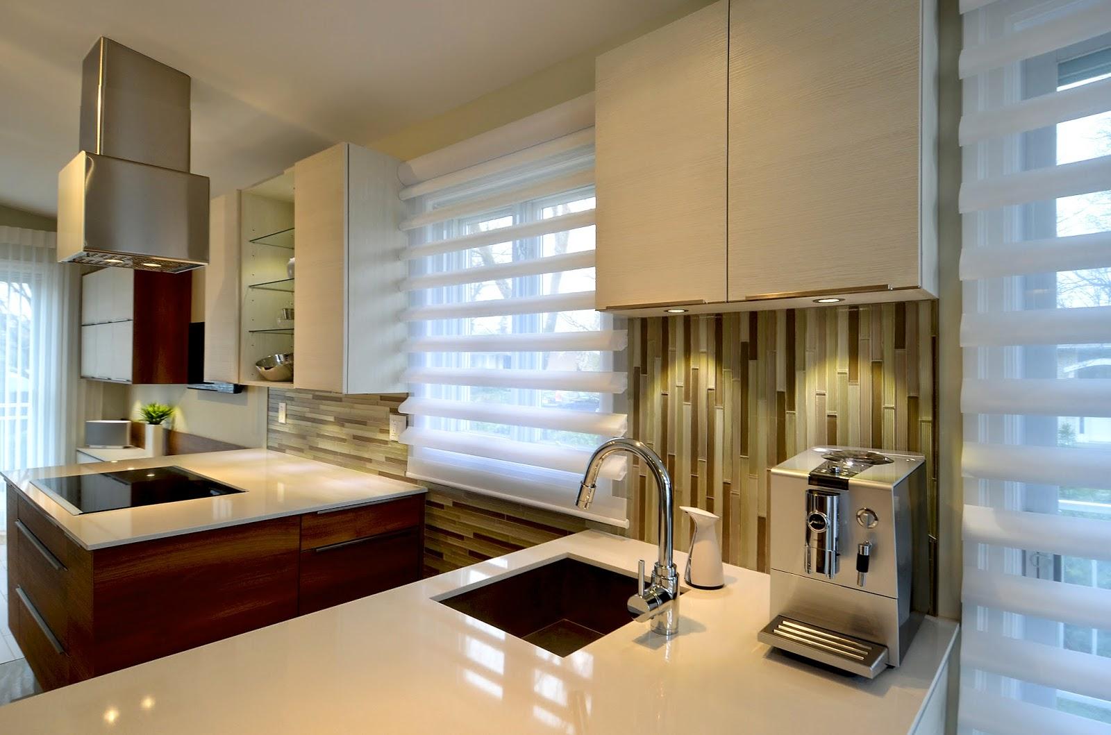 L 39 espace d co avant apr s la cuisine au centre d 39 une - Salon cuisine aire ouverte ...