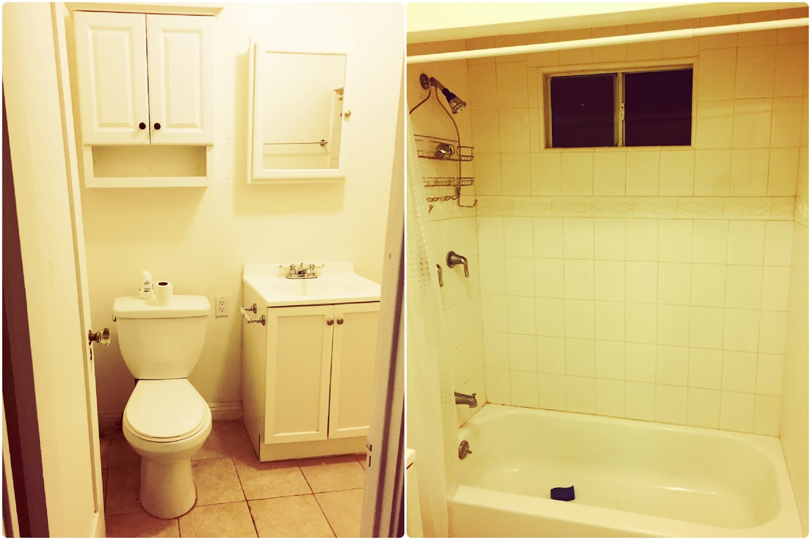 mimi 39 s do it yourself mostly we did it finished bathroom and kitchen. Black Bedroom Furniture Sets. Home Design Ideas