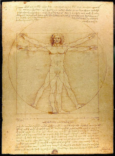 The Vitruvian Man, Leonardo Da Vinci
