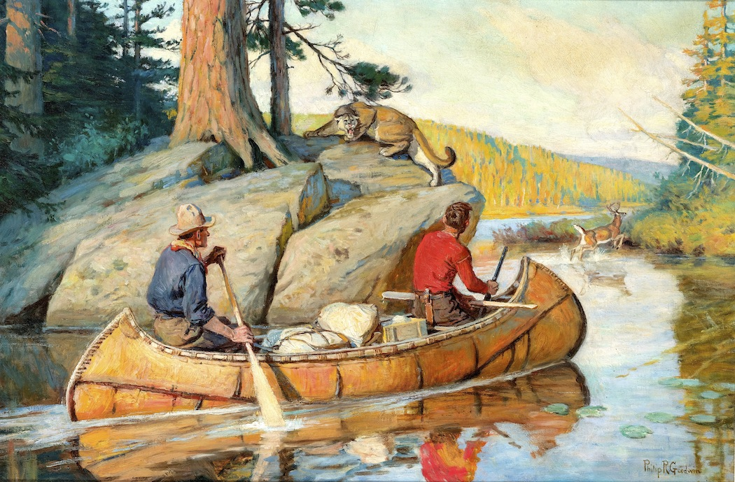 A drifting cowboy: Sporting Collectibles -- Canoes