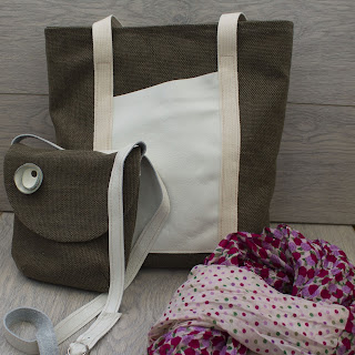сумки из рогожки