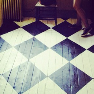 Suelo archivos rojosill n - Se puede pintar el piso ...