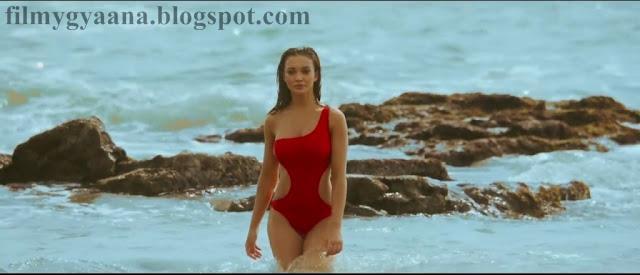 Amy Jackson Bikini for Singh is Bling Movie Stills