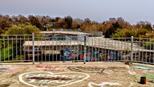 Graffiti at Fort Wetherill