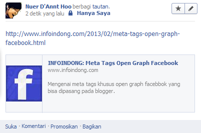 Meta Tags Open Graph Facebook 1