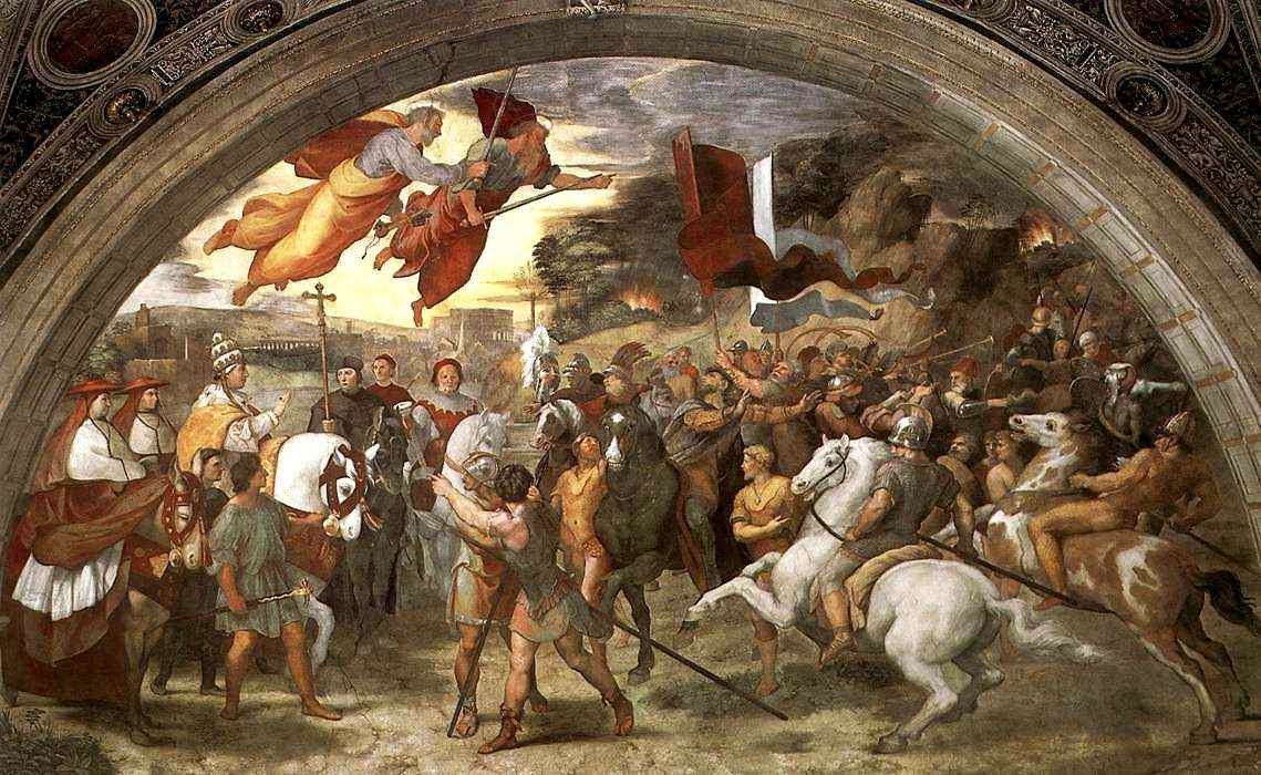 São Leão Magno dissuade Átila, Rafael