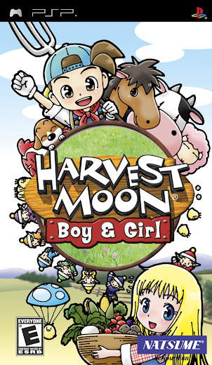 Download Harvest Moon Boy & Girl PSP ISO Highly Compressed