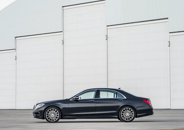 2015 Mercedes-Benz S-Class black