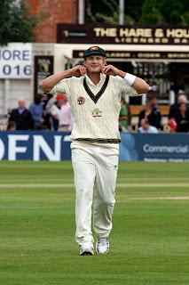 Shane Watson Fielding in a cricket match