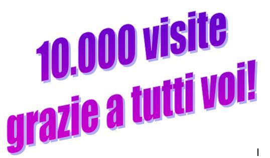10.000 visite...grazie di cuore!