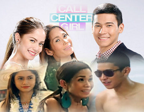 Call Center Girl Cast - Pokwang, Enchong Dee and Jessy Mendiola