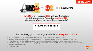 Amazon Coupon – $10 off $100