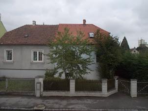 Austrian countryside.:- Typical Austrian village cottage.