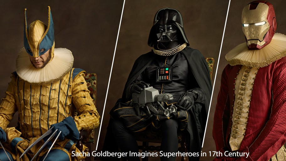 Герои комиксов и кино в 17 веке