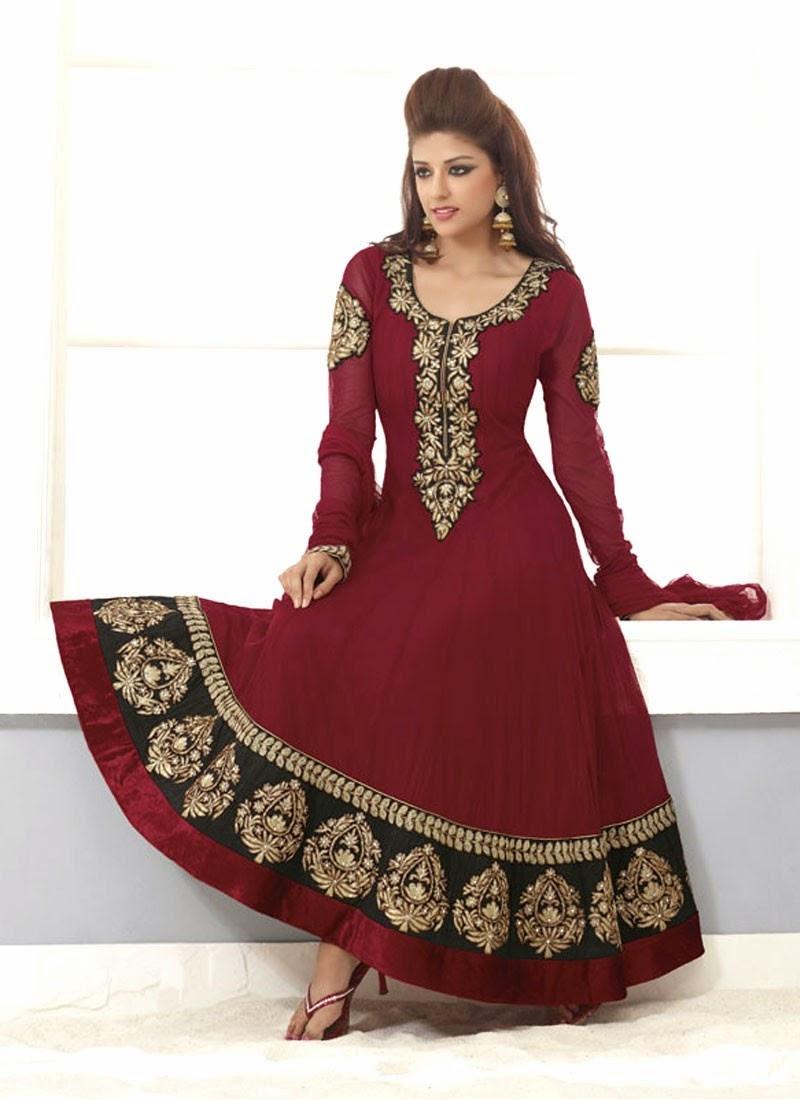 Indian Designer Wear Anarkali Suit Designs