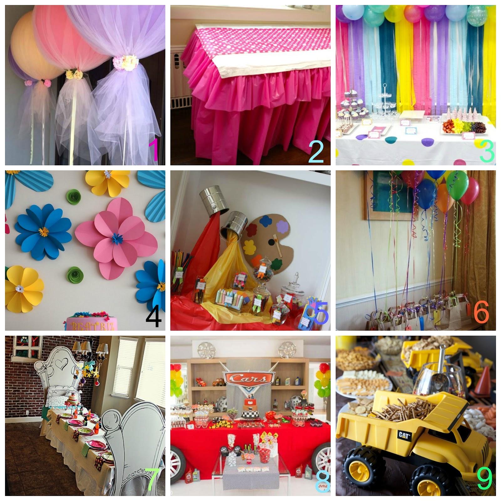 decorazioni compleanno fai da te bambini