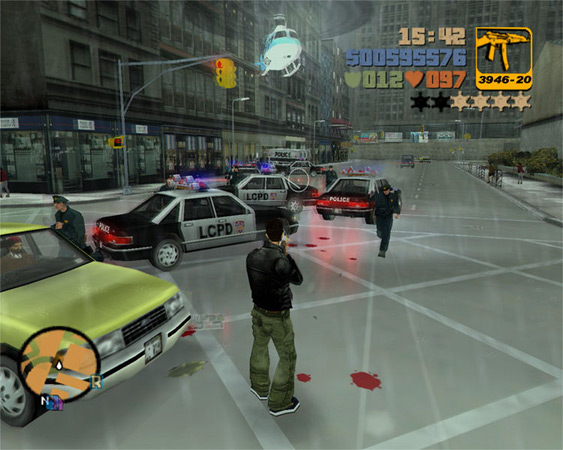 Grand Theft Auto III Planet
