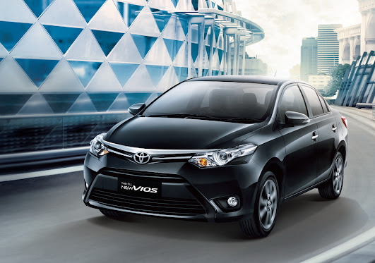 Toyota All New Vios Facelift 2013