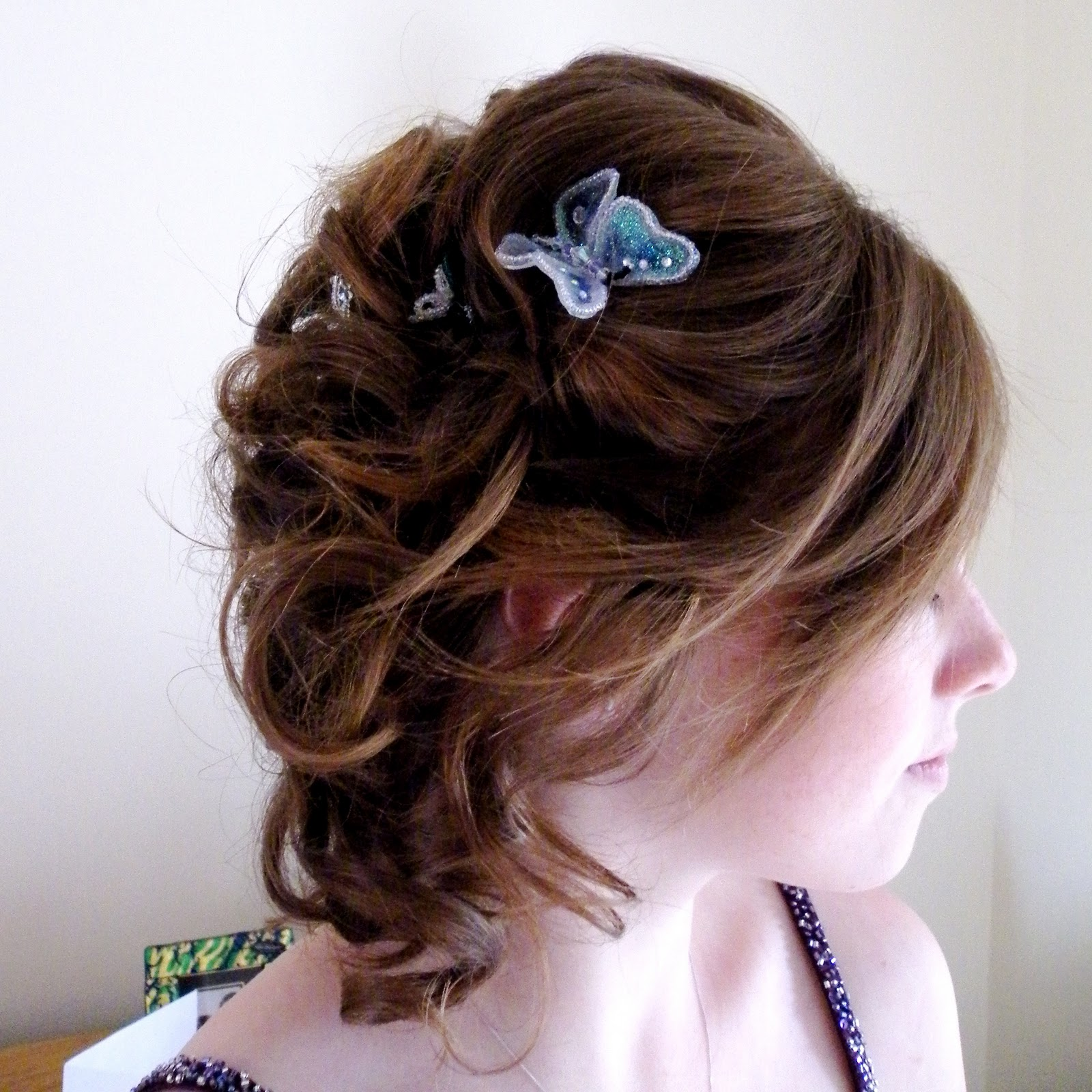 Sarahs Wedding Dalos Pin Ups And Wedding Hair