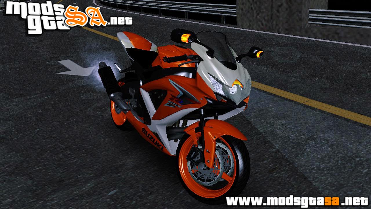 SA - Suzuki GSX-R 600 Orange 2015