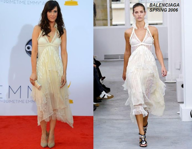 Fashion Flashback: Kristen Wiig In Balenciaga Spring 2006 At The 2012