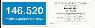 FREQUÊNCIA NACIONAL DE CHAMADA - 146.520 MHz