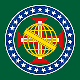 Núcleo Redesenhado e Atualizado da Bandeira Nacional Imperial Brasileira