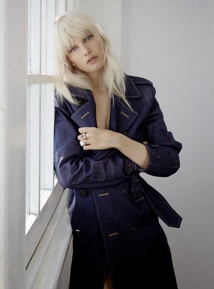 Model @ Hannah Holman By Jordan Graham For Elle Australia March 2015