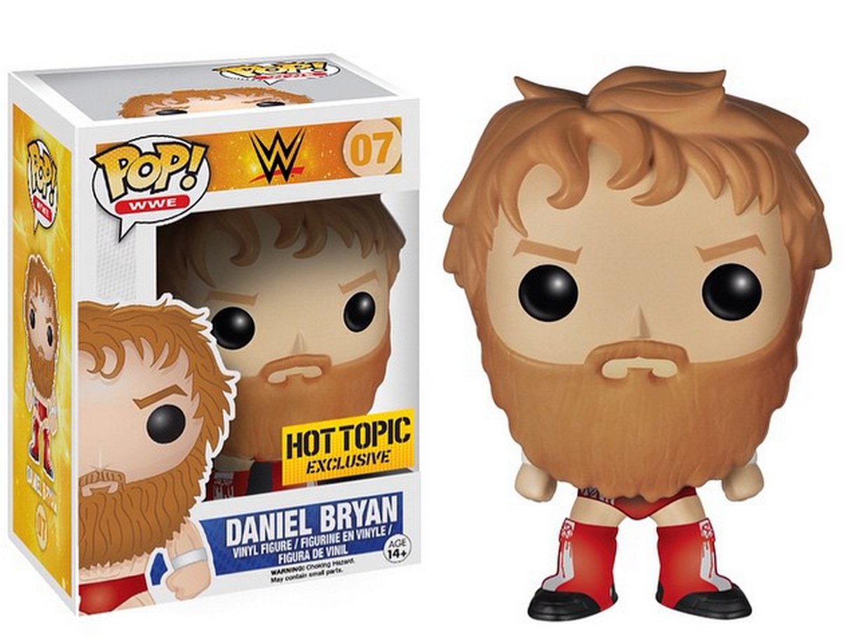 Funko Pop! Daniel Bryan HOT TOPIC