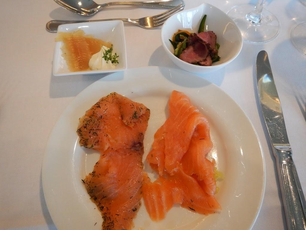 Hilton Munich Park salmon