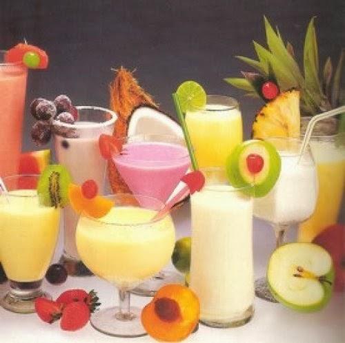Las frutas - Batidos de frutas ...