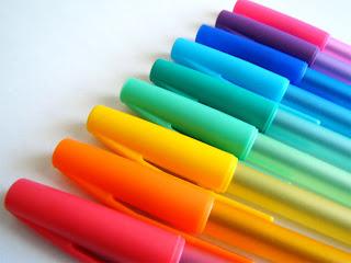 Print colored pencils