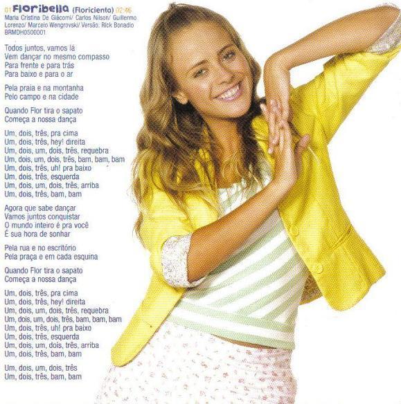 letras de musica de floribella: