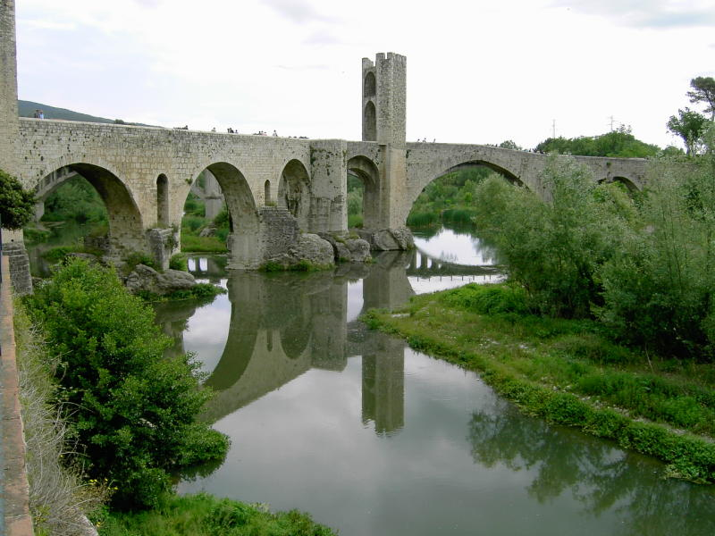 Besalu  Spain Roman Bridges