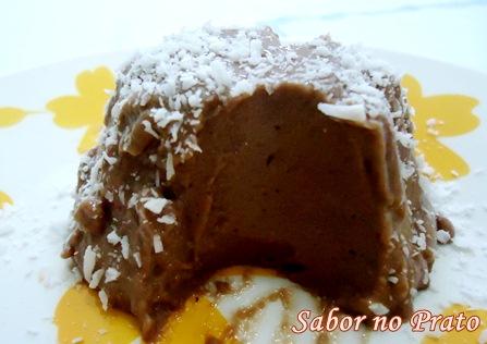 Flan de Chocolate muito simples de fazer.