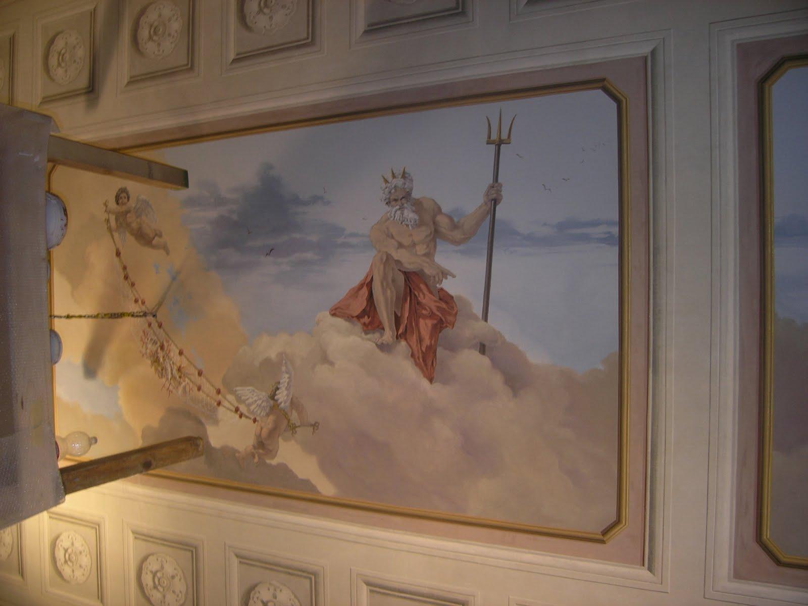 Dipinti Murali Per Interni : Murali interni gallery of decorazioni muri interni fai da te