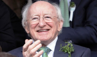 Ireland's President Michael D Higgins wants to hear from the Diaspora