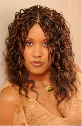 African American Braids Hairstyles - Micro Braids - Cornrows Hairstyle