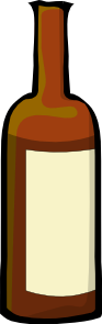 brown bottle clip art