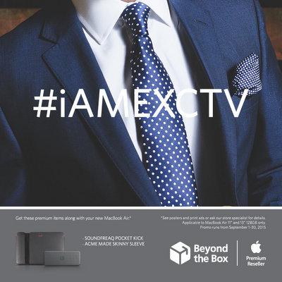 #iAMEXCTV MacBook Air Zero 24 Installments