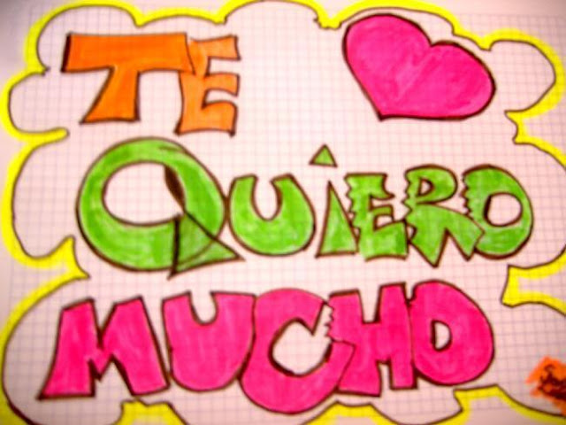 Te Quiero Mucho - Imagen para Facebook