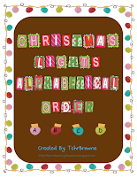 http://www.teacherspayteachers.com/Product/Christmas-Light-Alphabetical-Order-173094